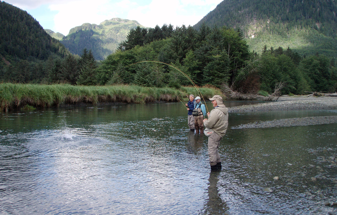 alaska fly fishing trips alaska fly in fishing trips